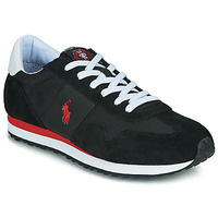 kengät Miehet Matalavartiset tennarit Polo Ralph Lauren TRAIN 85-SNEAKERS-ATHLETIC SHOE Black / Red