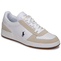 kengät Miehet Matalavartiset tennarit Polo Ralph Lauren POLO CRT PP-SNEAKERS-ATHLETIC SHOE Valkoinen
