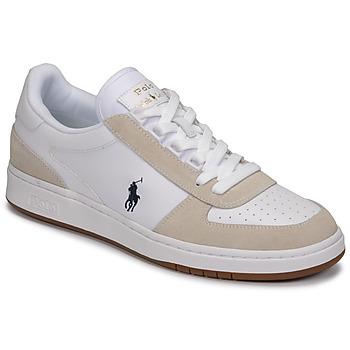 kengät Matalavartiset tennarit Polo Ralph Lauren POLO CRT PP-SNEAKERS-ATHLETIC SHOE Valkoinen