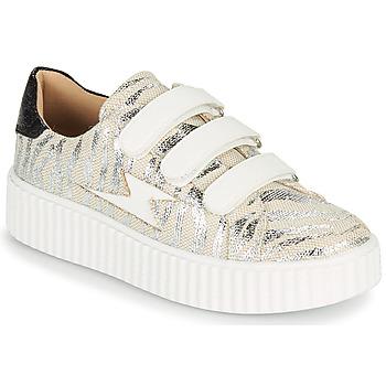 kengät Naiset Matalavartiset tennarit Vanessa Wu BK2065BA Harmaa