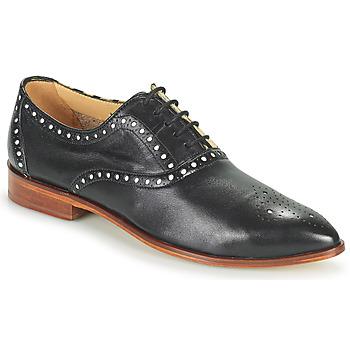 kengät Naiset Derby-kengät Melvin & Hamilton JESSY 61 Musta