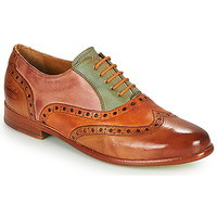 kengät Naiset Derby-kengät Melvin & Hamilton SELINA 24 Ruskea