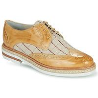 kengät Naiset Derby-kengät Melvin & Hamilton AMELIE 3 Keltainen