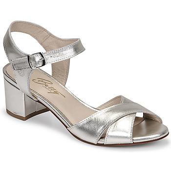 kengät Naiset Sandaalit ja avokkaat Betty London OSKAIDI Hopea