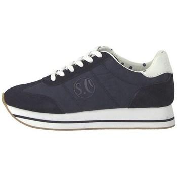 kengät Naiset Matalavartiset tennarit S.Oliver 552361222805 Tummansininen