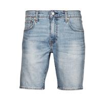 vaatteet Miehet Shortsit / Bermuda-shortsit Levi's 411 Slim Short Sininen