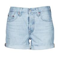 vaatteet Naiset Shortsit / Bermuda-shortsit Levi's 501 ROLLED SHORT Sininen