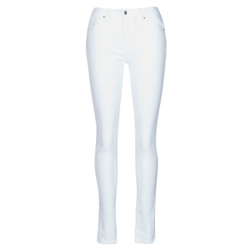 vaatteet Naiset Skinny-farkut Levi's 721 HIGH RISE SKINNY Valkoinen