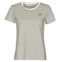 vaatteet Naiset Lyhythihainen t-paita Levi's PERFECT TEE Beige
