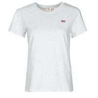 vaatteet Naiset Lyhythihainen t-paita Levi's PERFECT TEE Grey