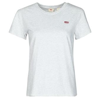 vaatteet Naiset Lyhythihainen t-paita Levi's PERFECT TEE Harmaa