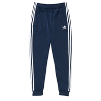 vaatteet Lapset Verryttelyhousut adidas Originals GN8454 Sininen