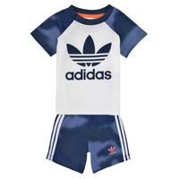 vaatteet Pojat Kokonaisuus adidas Originals GN4110 Valkoinen