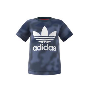 vaatteet Pojat Lyhythihainen t-paita adidas Originals GN4116 Sininen