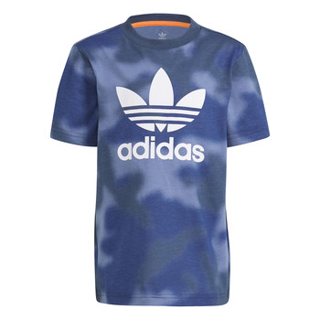vaatteet Pojat Lyhythihainen t-paita adidas Originals GN4119 Sininen