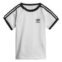 vaatteet Lapset Lyhythihainen t-paita adidas Originals DV2824 Valkoinen