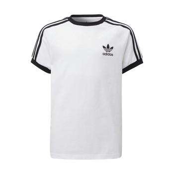vaatteet Lapset Lyhythihainen t-paita adidas Originals DV2901 Valkoinen