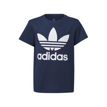 vaatteet Lapset Lyhythihainen t-paita adidas Originals GD2679 Sininen
