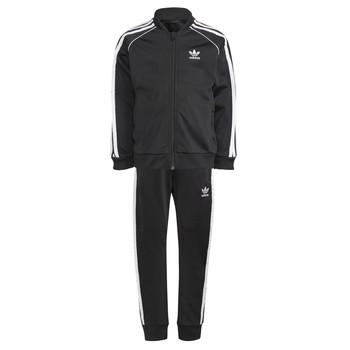 vaatteet Lapset Verryttelypuvut adidas Originals GN4362 Black