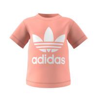 vaatteet Lapset Lyhythihainen t-paita adidas Originals GN8176 Valkoinen