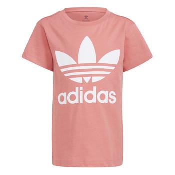 vaatteet Lapset Lyhythihainen t-paita adidas Originals GN8205 Valkoinen