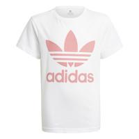 vaatteet Lapset Lyhythihainen t-paita adidas Originals GN8213 Valkoinen