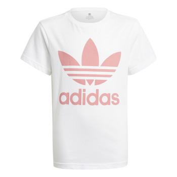 vaatteet Lapset Lyhythihainen t-paita adidas Originals GN8213 White
