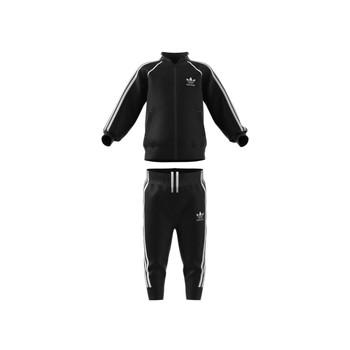vaatteet Lapset Verryttelypuvut adidas Originals FREDDY Musta