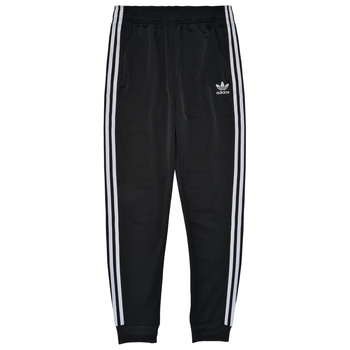 vaatteet Lapset Verryttelyhousut adidas Originals GIANNY Musta