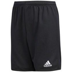 vaatteet Pojat Shortsit / Bermuda-shortsit adidas Originals JR Parma 16 Mustat