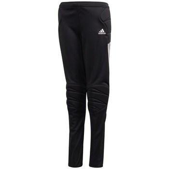 vaatteet Pojat Verryttelyhousut adidas Originals JR Tierro 13 Mustat