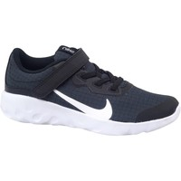 kengät Lapset Matalavartiset tennarit Nike Explore Strada Valkoiset, Tummansininen
