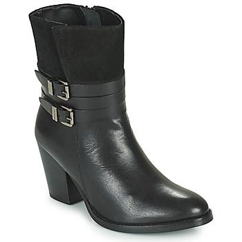 kengät Naiset Nilkkurit Ravel SHORES Musta