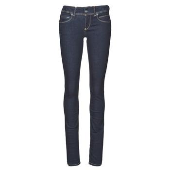 vaatteet Naiset Slim-farkut Pepe jeans NEW BROOKE Sininen