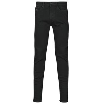 vaatteet Miehet Skinny-farkut Diesel D-AMNY-SP4 Musta