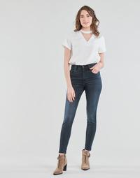 vaatteet Naiset Skinny-farkut Diesel D-SLANDY-HIGH Blue