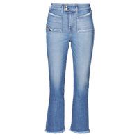 vaatteet Naiset Bootcut-farkut Diesel D-EARLIE-H Sininen