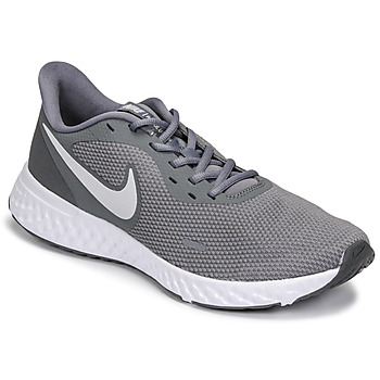 kengät Miehet Juoksukengät / Trail-kengät Nike REVOLUTION 5 Harmaa