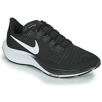 kengät Miehet Juoksukengät / Trail-kengät Nike AIR ZOOM PEGASUS 37 Musta / Valkoinen
