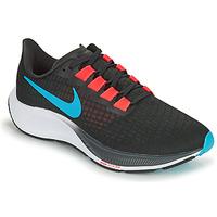kengät Miehet Juoksukengät / Trail-kengät Nike AIR ZOOM PEGASUS 37 Musta / Punainen / Sininen