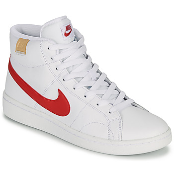 kengät Miehet Matalavartiset tennarit Nike COURT ROYALE 2 MID Valkoinen / Punainen