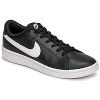 kengät Miehet Matalavartiset tennarit Nike COURT ROYALE 2 LOW Musta / Valkoinen