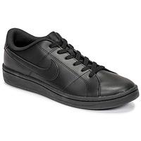 kengät Miehet Matalavartiset tennarit Nike COURT ROYALE 2 LOW Musta