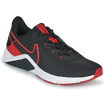 kengät Miehet Urheilukengät Nike LEGEND ESSENTIAL 2 Musta / Punainen