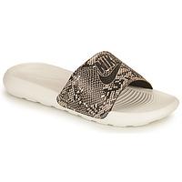 kengät Naiset Rantasandaalit Nike VICTORI PRINT BENASSI Khaki