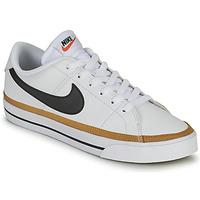 kengät Naiset Matalavartiset tennarit Nike COURT LEGACY Valkoinen / Sininen