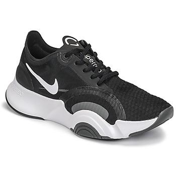 kengät Naiset Urheilukengät Nike SUPERREP GO Black / White