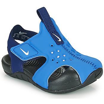 kengät Pojat Rantasandaalit Nike Sunray Protect 2 TD Blue
