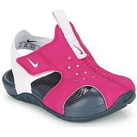 kengät Tytöt Rantasandaalit Nike SUNRAY PROTECT 2 TD Violet