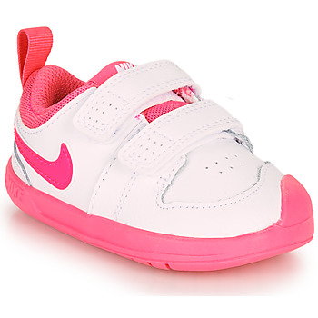 kengät Tytöt Matalavartiset tennarit Nike PICO 5 TD White / Pink